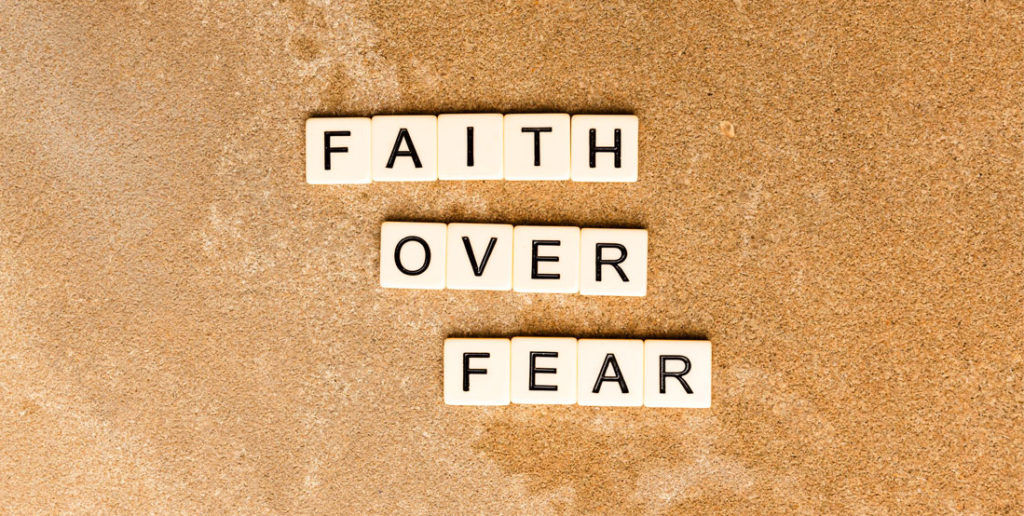 Faith over fear(work from home quotes)