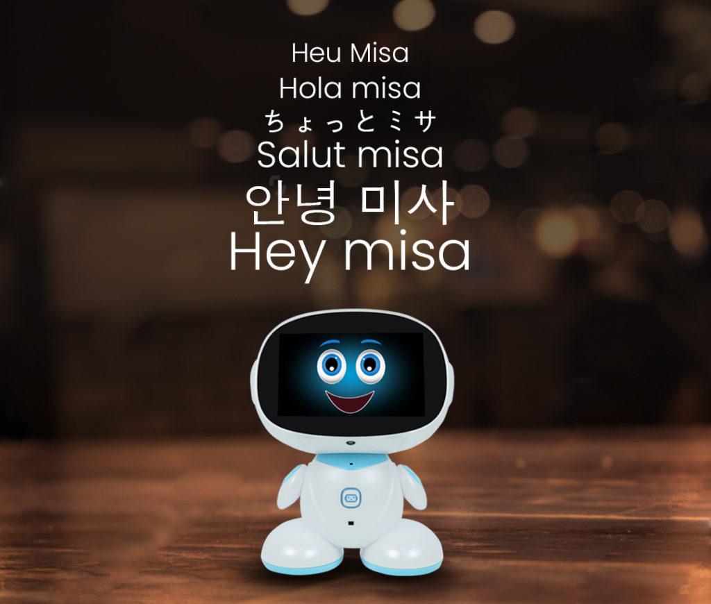 Misa responding to 'hey misa'