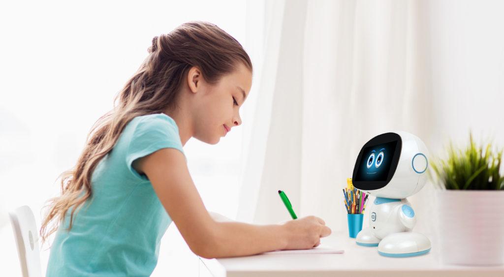 Misa helping kid in her studies