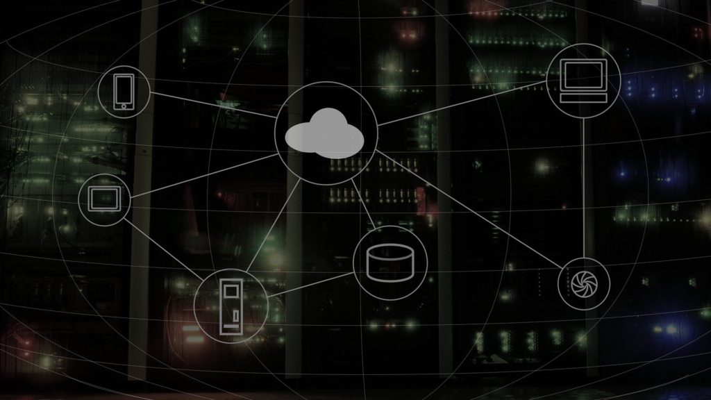 systems connected by cloud